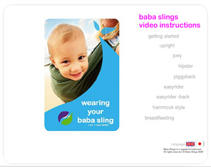 Baba Slings Video