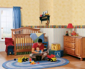 Cars, trains, trucks, planes and tractors, ideas for your nursery theme