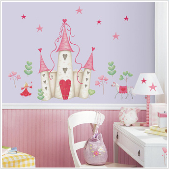 Princess Kids Room : Princess Wall Stickers- How to Create a Princess Bedroom Using Decals ...