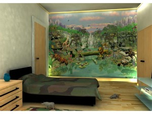Walltastic Jungle Wall Mural