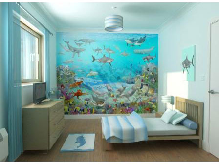 wallpaper murals. jun Wall+murals+for+kids
