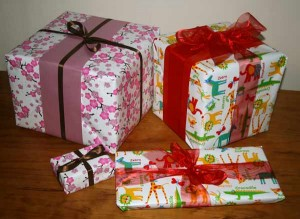 gift wrap at totsntales