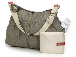 Babymel Amanda Quilted Moss Nappy Bag