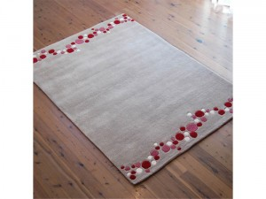Bug Rugs Dotty Pink Red
