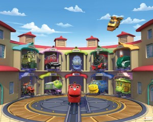 Chuggington mural