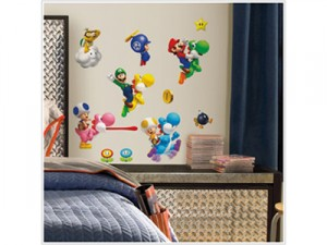 Super Mario wall decor