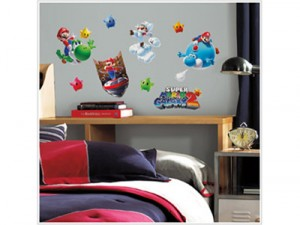 Super Mario 2 wall decals