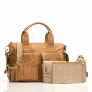 Storksak Sofia Leather changing bag