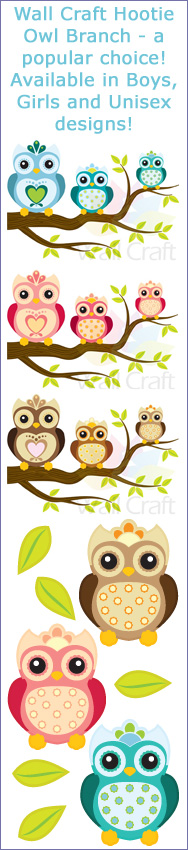 Click here to view our Wall Craft Hootie Owls range